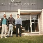 The gang at the Ludwig Musser Plant